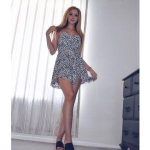Dresses & Skirts - Cheetah Print Romper